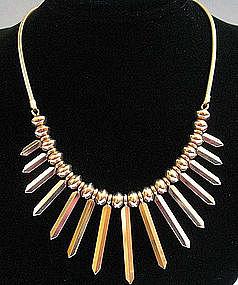 Primitive Look Necklace by Krementz