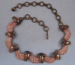 Matisse Copper and Enamel Necklace