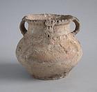 Rare Chinese Neolithic Pottery Jar - Banshan / Majiayao