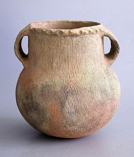 Rare Chinese Neolithic Pottery Jar (Xindian)