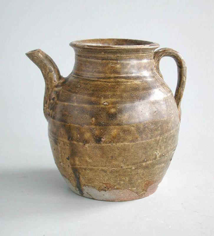 Fine Chinese 9th - 10th Century Stoneware Ewer