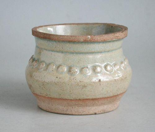 Chinese Song / Yuan Dynasty Qingbai Porcelain Jar / Rice Measure