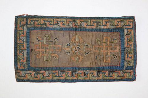 Double Dorje Altar Cloth