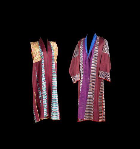 Pair of Tibetan Wedding Robes