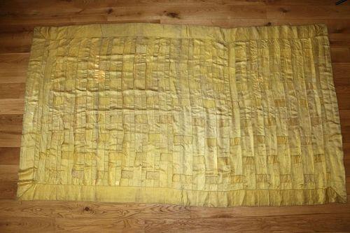 Yellow Silk Kesa