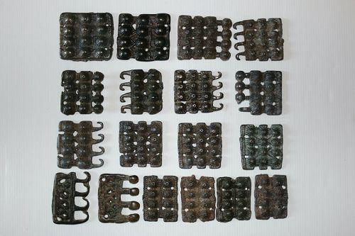 Tibetan Tokcha armour plates