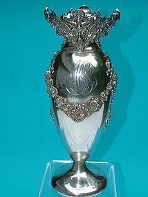 Kerr Rococo revival flower vase,