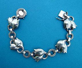 Georg Jensen tulip bracelet number 100A