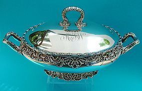 Whiting POMPADOUR tureen number 5114