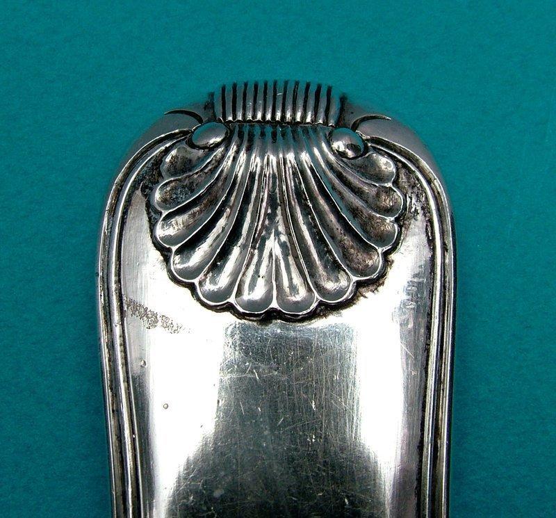 China Trade strainer spoon, Wongshing,