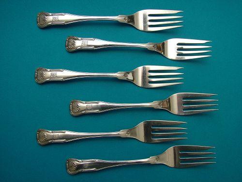 6 Kirk KING salad forks