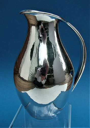 Johan Rohde design sterling water pitcher by Holger Rasmussen