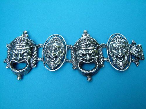 "Peruzzi of Boston cast ""mask"" bracelet"