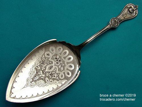 Durgin STRAWBERRY pie knife