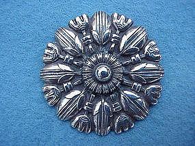 stylish Norwegian Art Deco pin, David Andersen