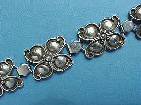 Norwegian silver (.830) bracelet, maker JKP