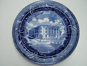 Wedgwood LYNN WOMEN'S CLUBHOUSE blue transfer