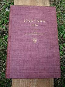 Harvard class of 1934 25th anniversary report