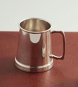 Tankard Form 1 1/2-oz. Cocktail Jigger
