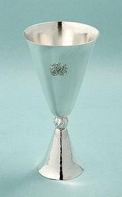 J.C. Klinkosch Secession Silver Goblet