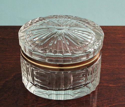 Cut Crystal Box
