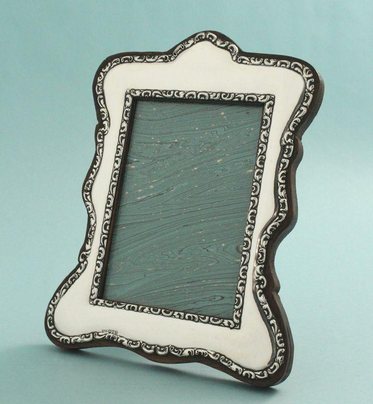 English Silver Photo Frame