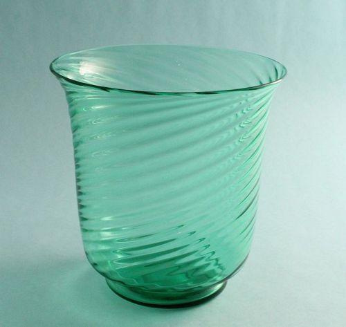 Steuben Pomona Green Vase