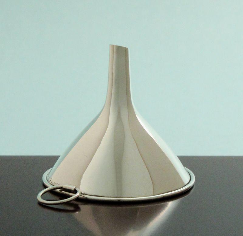 Silver Flask Funnel
