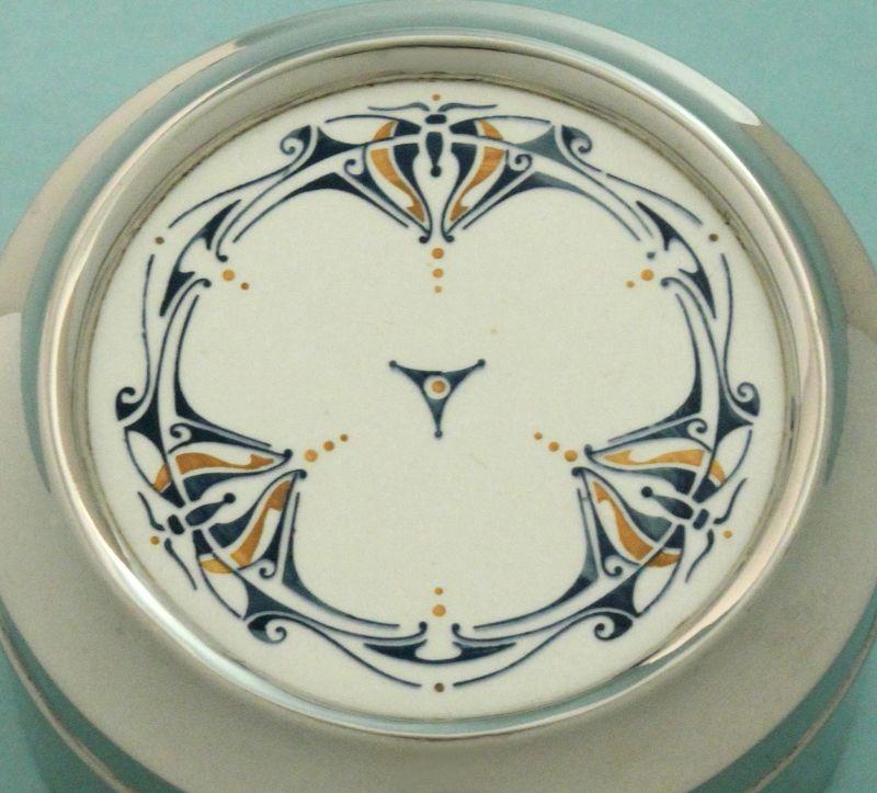 Art Nouveau Pottery Top Box