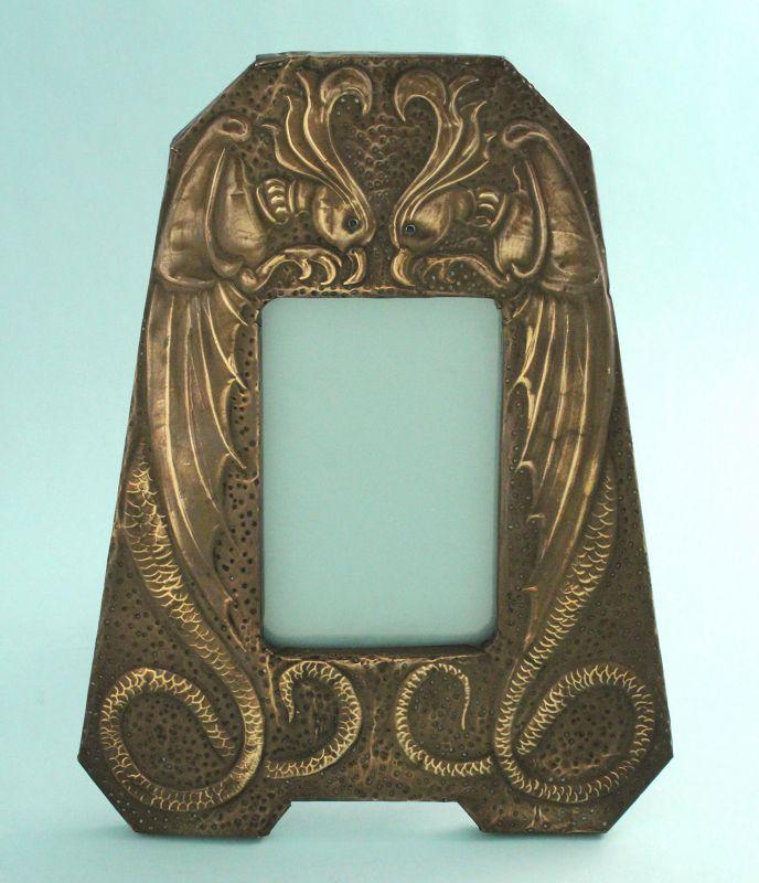 Art Nouveau Phoenix Photo Frame