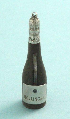 Champagne Bottle Horn Cigar Cutter