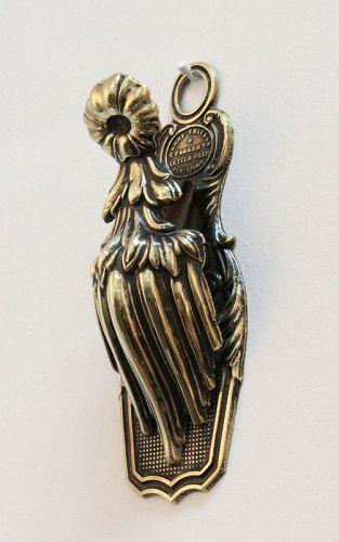 Victorian Brass Letter Clip