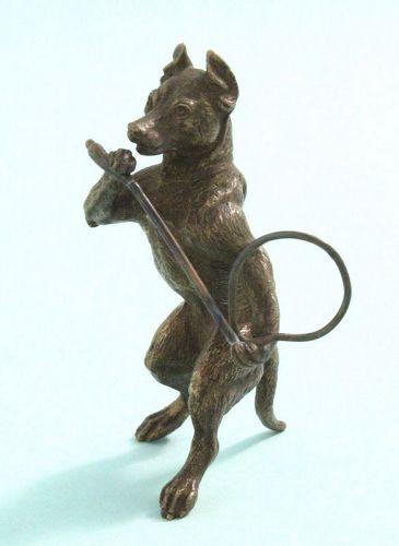 Austrian Bronze Circus Dog