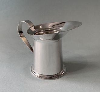 Cartier Silver Mini Pitcher Jigger
