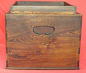 Japanese Wood Hibachi Box