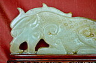 Chinese Hardstone Carving Of Dragon