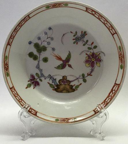 Gorgeous Meissen Kakiemon Pattern or Style Saucer Circa 1817-22