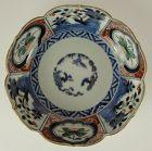 Finely Painted 18th Century Japanese Porcelain Bowl - Polychrome Imari