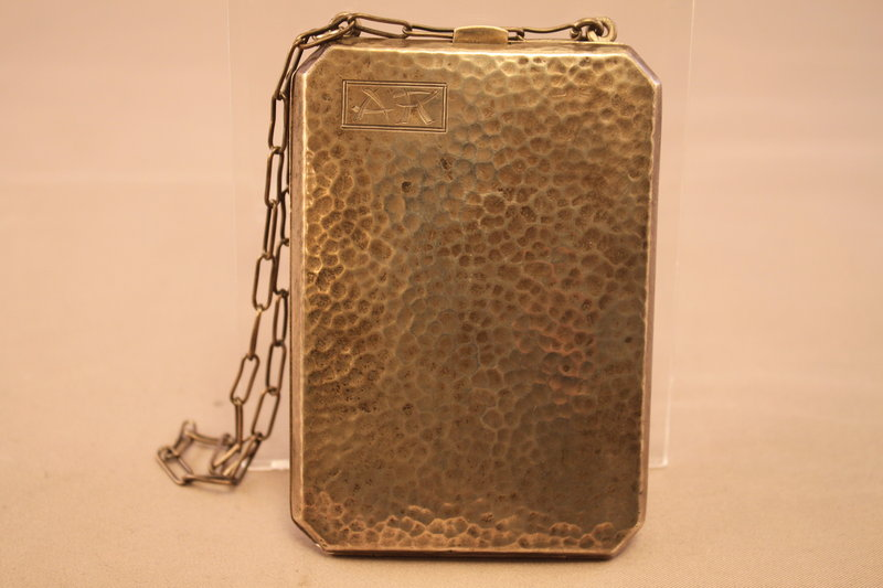 Antique Sterling Silver Lady's Money Purse.