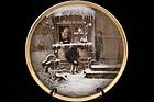 Antique Fisher & Mieg Porcelain Plaque, 19th C.