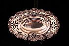 Wonderful English antique Silver Dish, Ear 18th C.
