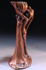 Antique Art Nouveau-Style Candle Holder, Earl 20th c.