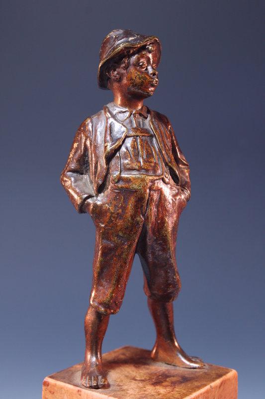 19th c. Superb Bronze Figure,