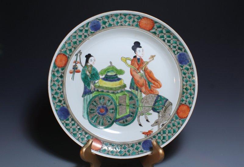 Chinese Enameled Porcelain Bowl,