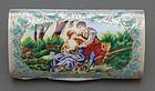 Ugo Bellini Italian Silver Gilt & Enamel Lidded Box