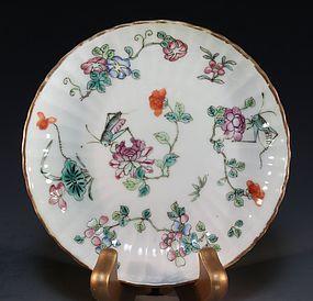 Fine Chinese Enameled Porcelain Bowl.