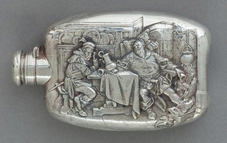 Fine Wallace Sterling Silver Flask