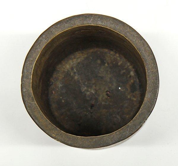 19th C. Chinese Bamboo Brush Pot.