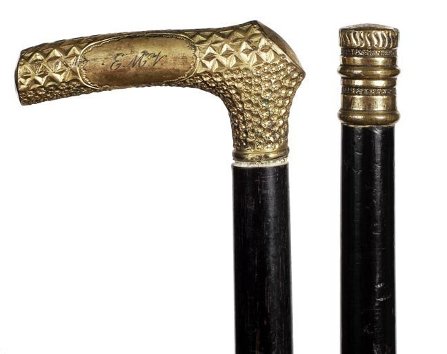 Two Gold-Filled Dress Canes - Ca. 1900.