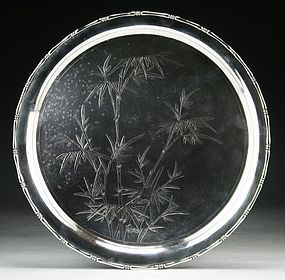 19th C. Fine Chinese Export Silver Plate.